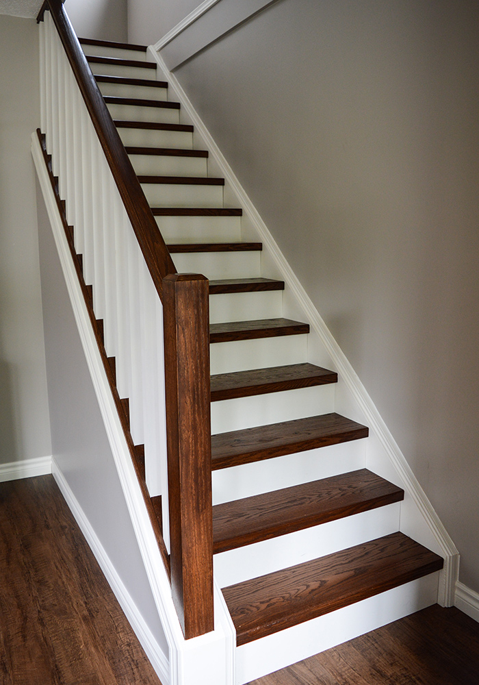 Projects Stairs Railing Amp Trim Corbel Renovation