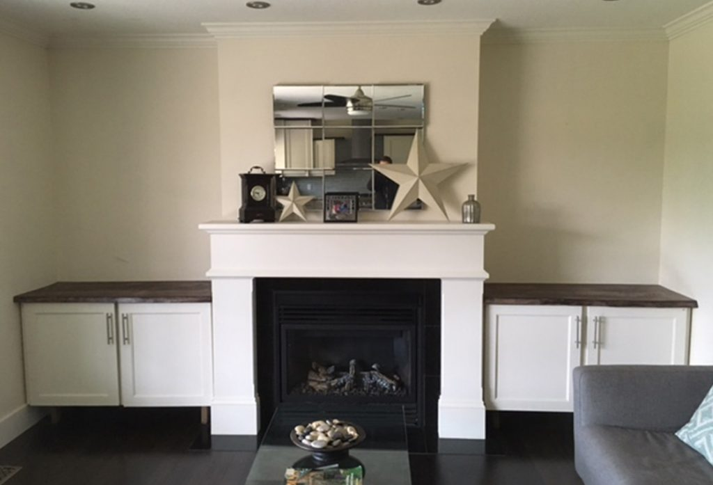 Projects: Fireplace Cabinet U0026 Mantelpiece